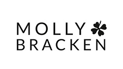 Molly Bracken Pantalon Largo Con Estampado De Cuadros